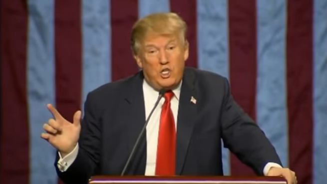 """Trump lies about """"thousands"""" cheering 9/11 in New Jersey"""