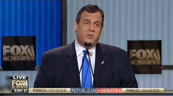Fact-checking 5 claims from Christie's debate