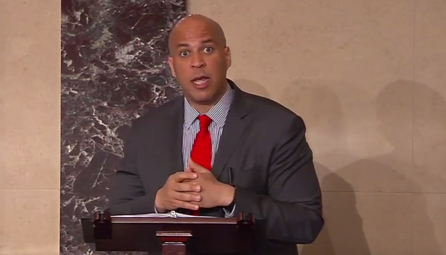 Should Booker recuse himself from the impeachment trial?