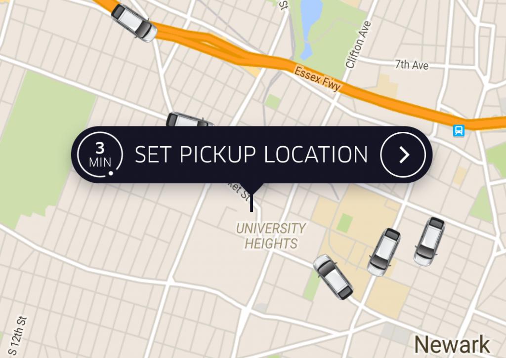 newark uber