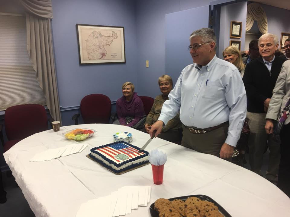 Sette celebrates retirement from Morris County's Board of Elections