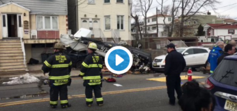 Luckiest Pilot Ever Survives Small Plane Crash On A Neighborhood Street