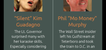 Guadagno, Ciattarelli Drop Dueling Seat-Stuffers On Chamber Train