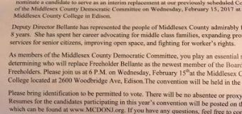 Middlesex County Democrats Demand… Voter ID?