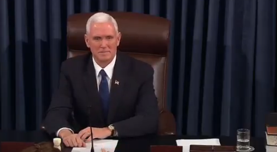 Pence Breaks Tie to Confirm DeVos