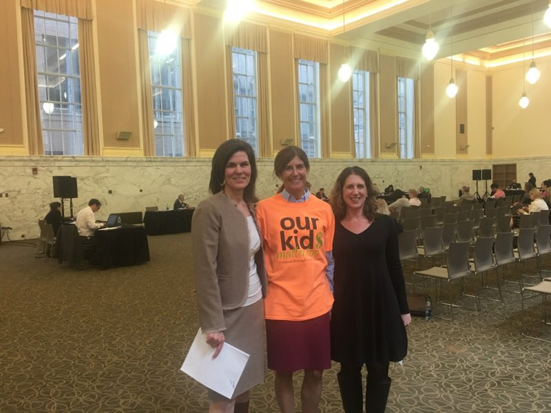 Beck Rallies For Overtaxed, Underfunded Suburban School Districts at Newark Hearing