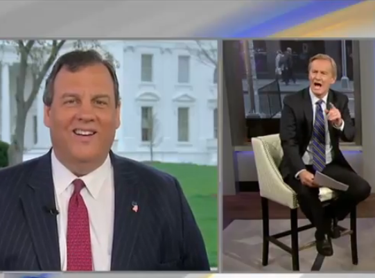 Christie's Back On The Road Today For His New Gig