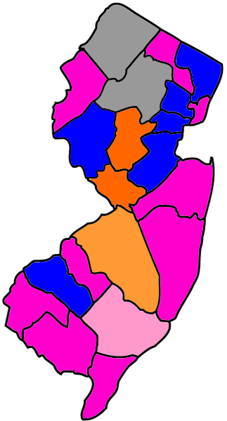 MAP: The N.J. GOP Gubernatorial Primary Battle for County Lines