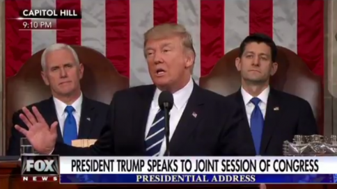 Trump Address to Congress: Our Allies Will See That America is Ready to Lead Again