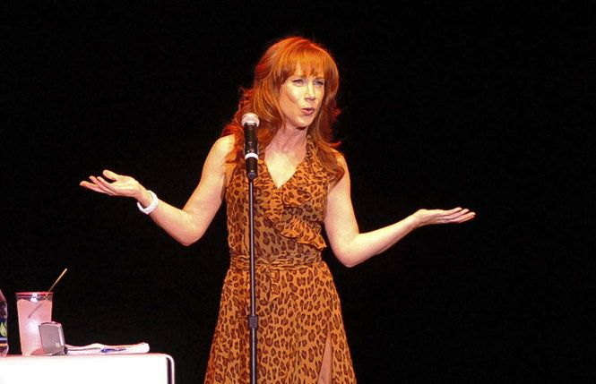 Comedian Kathy Griffin performs last August at the Sands Bethlehem Event Center. She returns to the Bethlehem venue Oct. 4.