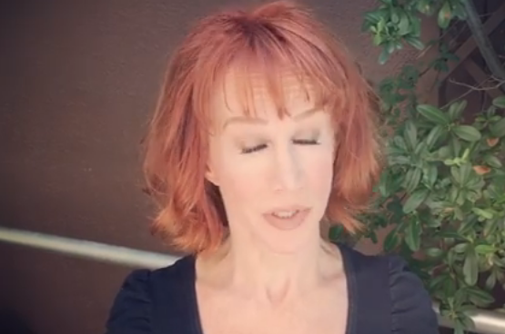 Kathy Griffin, of bloody Trump head fame, now plays victim