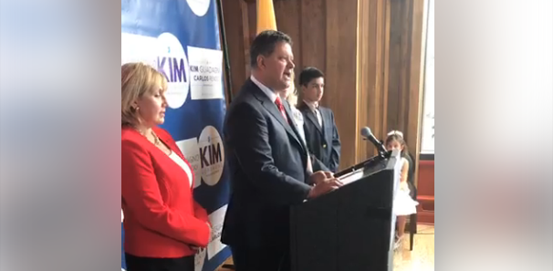 Guadagno's running mate, a Cuban immigrant, thinks the Dem ticket sounds too much like what he left behind