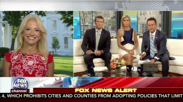 VIDEO: Conway trolls 'busy' Menendez as tax reform fight looms