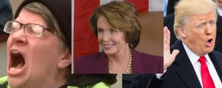 Donald Trump likens Nancy Pelosi's 'crumbs' tax comments to Hillary Clinton's 'deplorables'