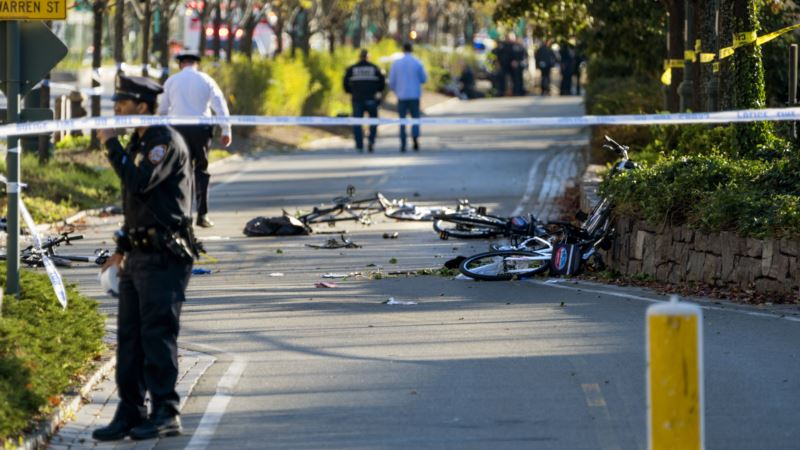 At Least 8 Killed by New York Motorist in 'Cowardly Act of Terror'