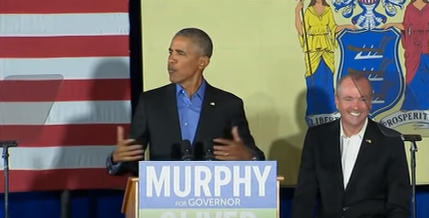 Murphy's already running for president… and the inauguration is over a month away!