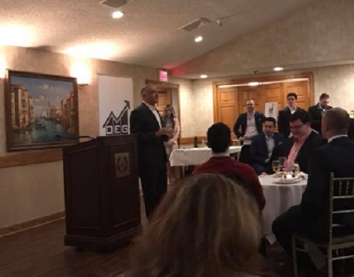 Caruso hits the brakes, rules out NJ-11 run at PAC launch event