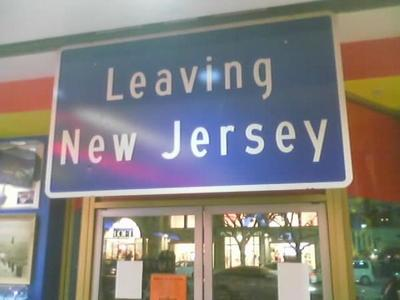 Why I'm leaving New Jersey