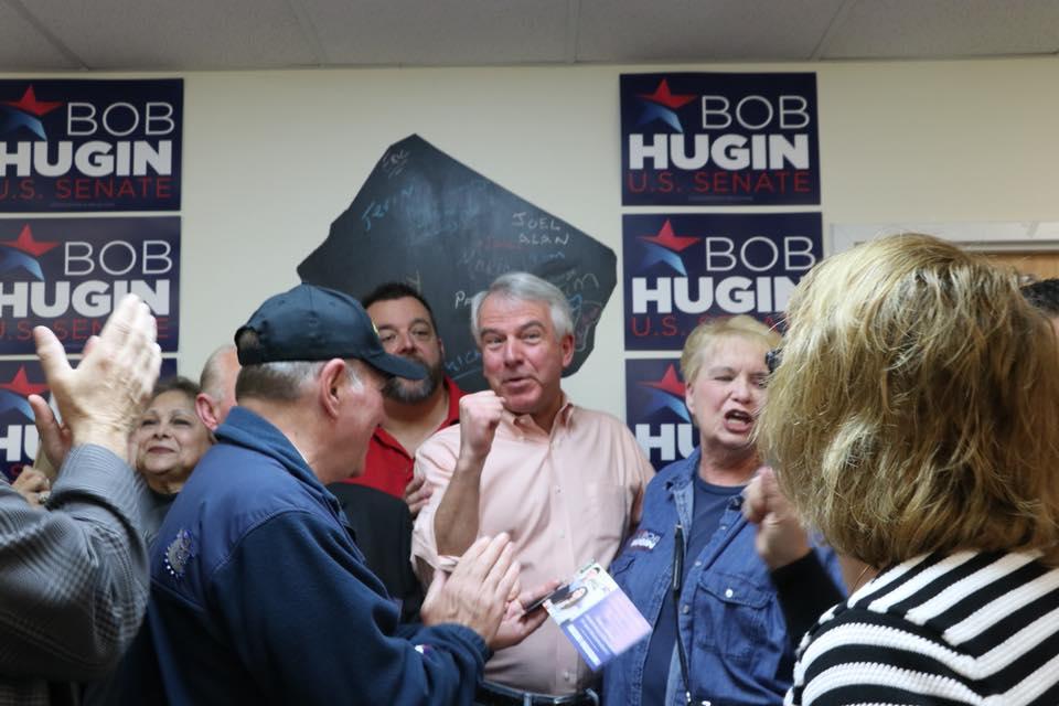 N.J. SENATE: Hugin opens Union County campaign headquarters