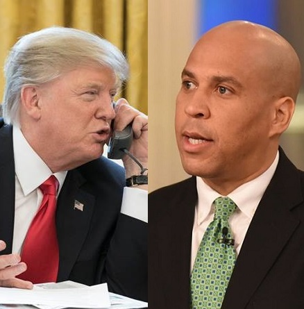 Booker votes against overriding Trump's defense bill veto