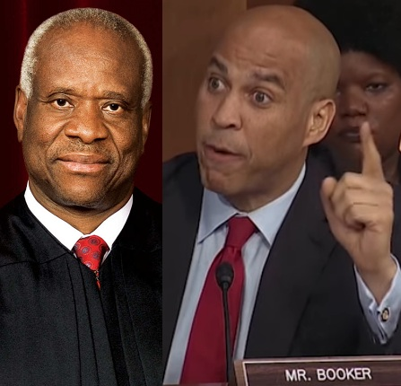 VIDEO: Clarence Thomas mocks Cory Booker's 'Spartacus' theatrics