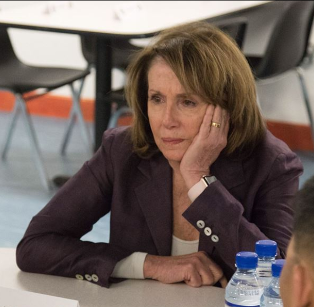 Nancy is having a much worse week than Donald