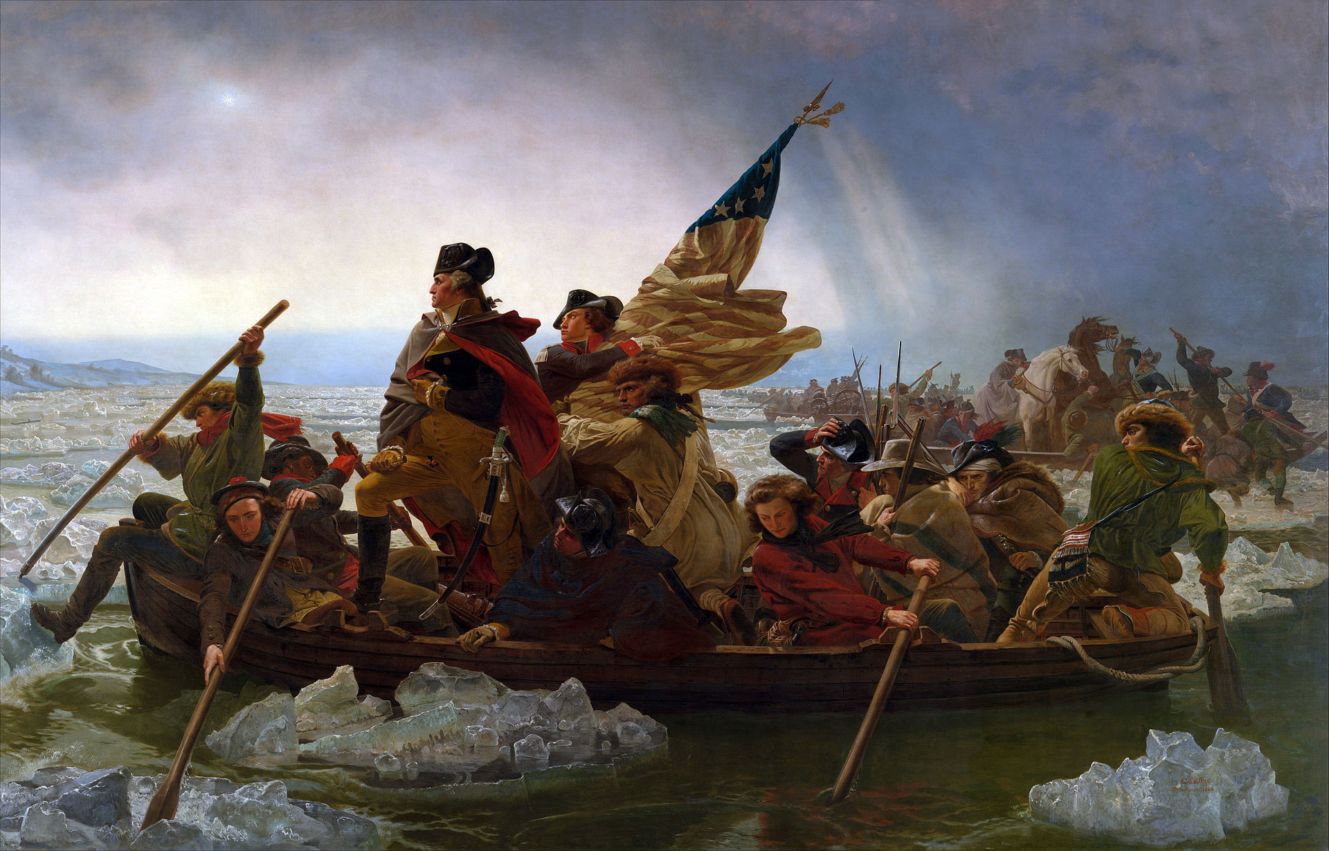 The Second Christmas Miracle: Washington's Crossing