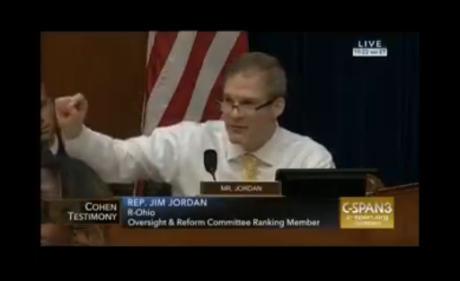 MUST WATCH: Rep. Jim Jordan explains why the Cohen hearing is a joke