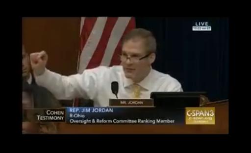 MUST WATCH: Rep. Jim Jordan explains why the Cohen hearing is a joke
