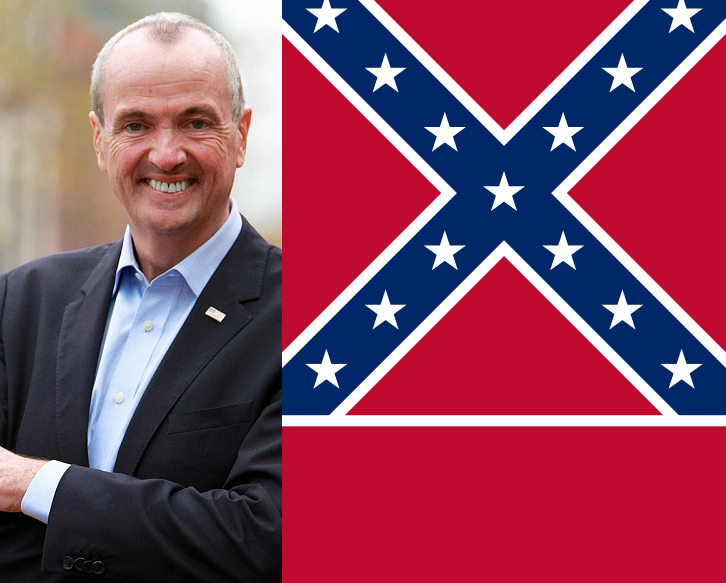 Murphy orders Mississippi flag banned from Liberty State Park