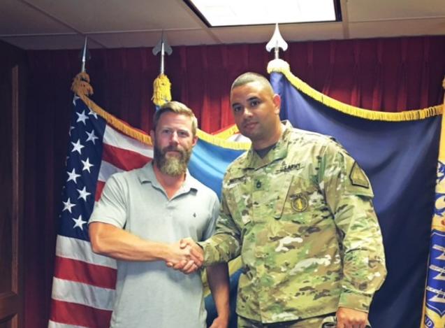 Luna joins N.J. Army National Guard