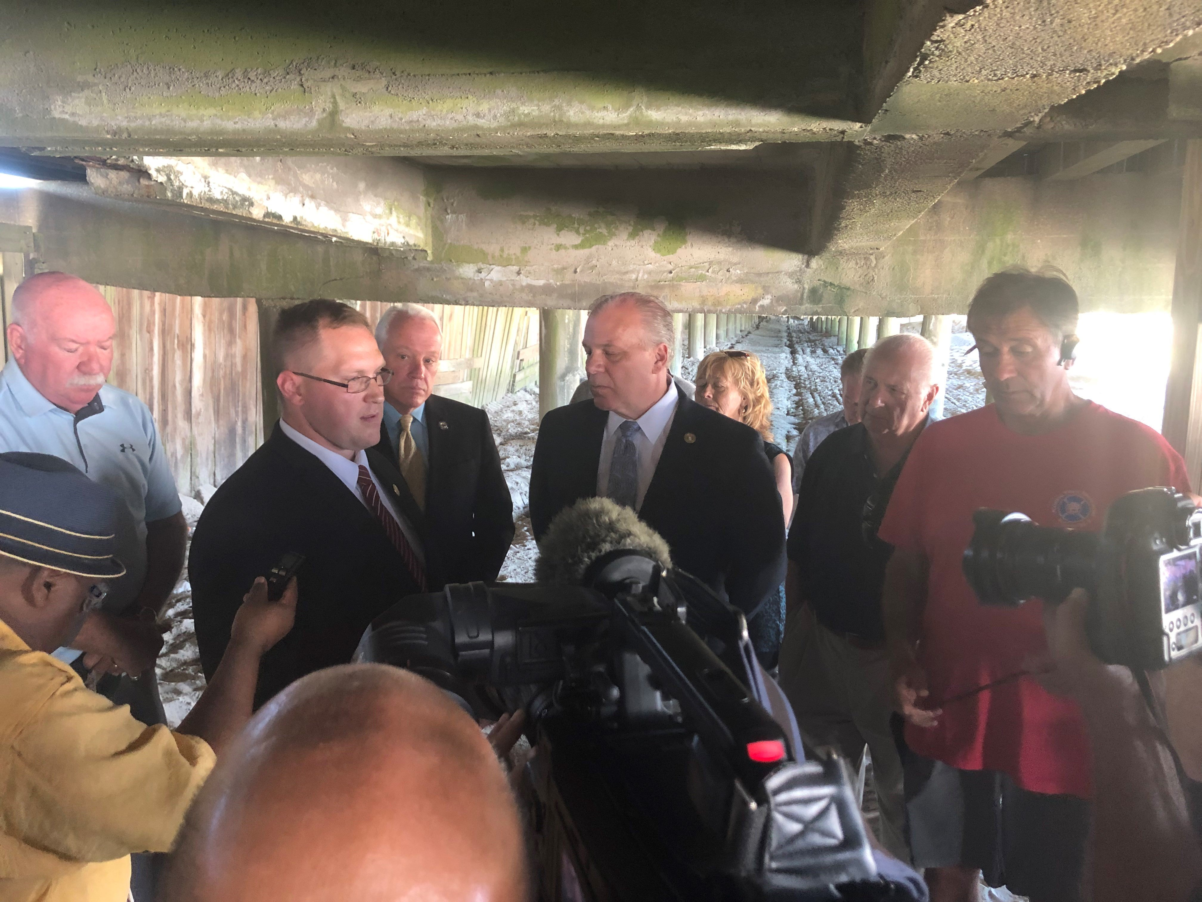 TESTA: Sweeney, Andrzejczak can't make up for 'screwing South Jersey' by misusing the gas tax for boardwalk repairs
