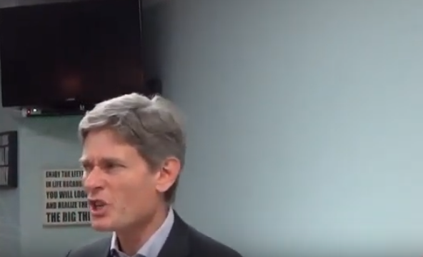 "NJ-07: Malinowski says he'd ""absolutely"" back Sanders if he's the Democrat nominee"