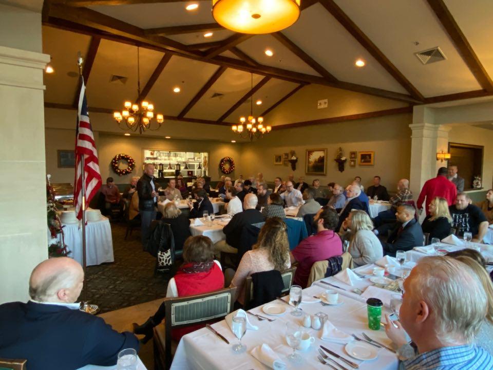 NJ-02: Democrat defector Van Drew makes local GOP debut at Testa's Cumberland breakfast