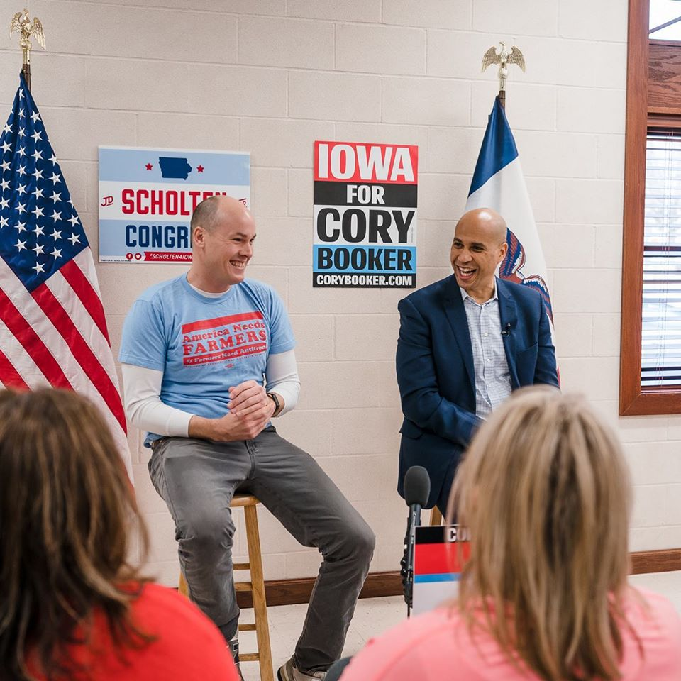 Polling-challenged Booker is likely to miss the big Iowa debate, too