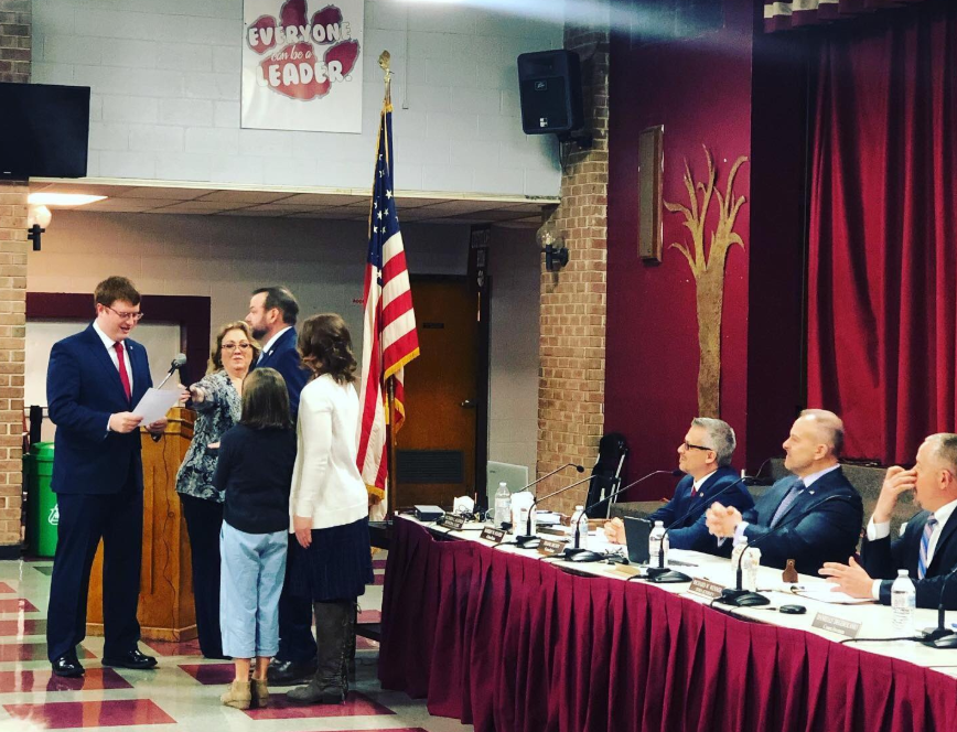 VIDEO: Triumphant Phillipsburg GOP celebrates its total takeover at reorg