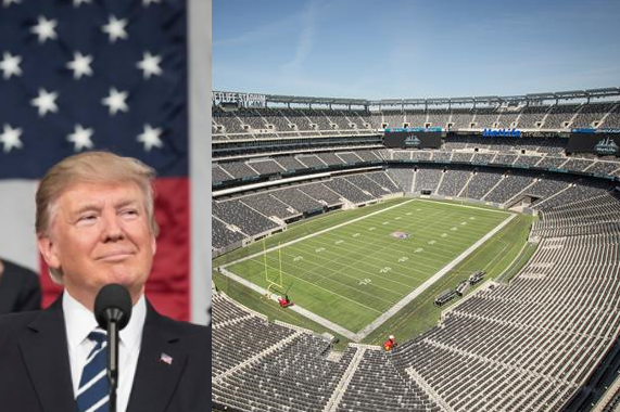 Will Trump rally at MetLife Stadium this summer? It's possible, hints POTUS.