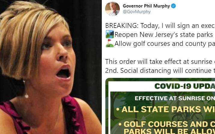"The Level 5 ""Karen"" meltdown over Murphy reopening parks/golf courses is hilarious, terrifying"