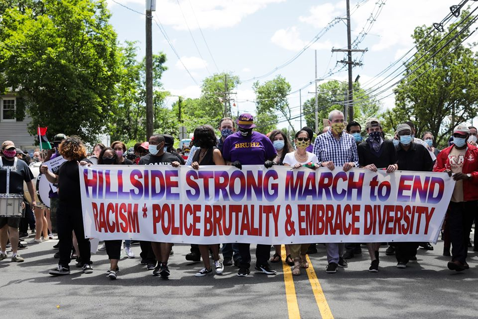 Governor Murphy breaks his own order with BLM protesters in Hillside, Westfield