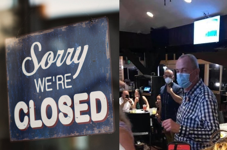Murphy cancels resumption of N.J. indoor dining AFTER getting caught inside a restaurant?