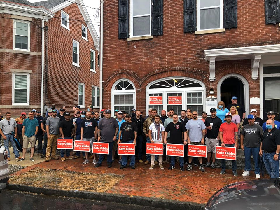 Local 825 puts boots on the ground for Gibbs in NJ-03