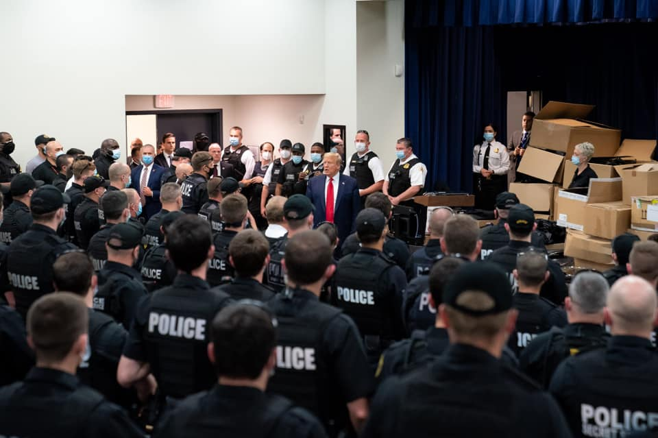 Op-Ed: President Trump will deliver the policing reform we need | Rogers