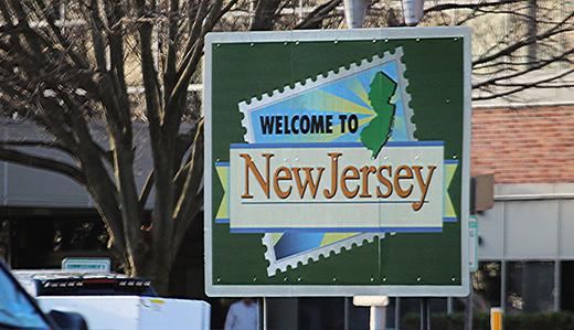 "New Jersey's self-quarantine ""advisory"" (it's not mandatory) now includes half of the U.S."