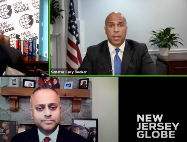 VIDEO: Booker advocates federal control of local zoning, complains Trump trying to scare the burbs