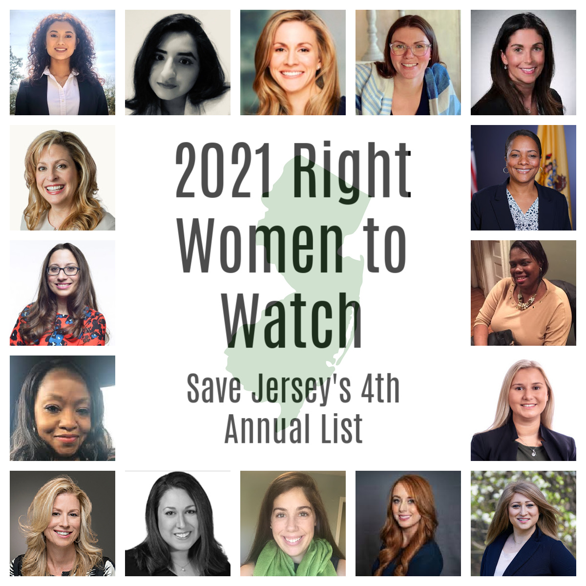 Save Jersey's 2021 Right Women to Watch List