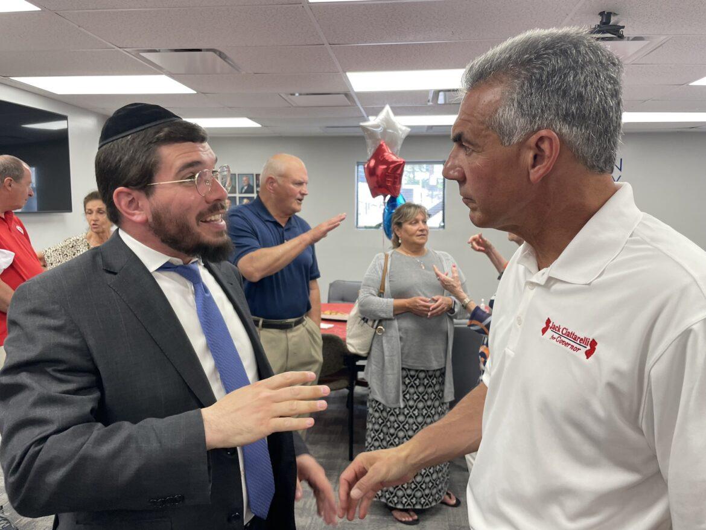 Ciattarelli ends his pre-primary push in must-win Ocean County