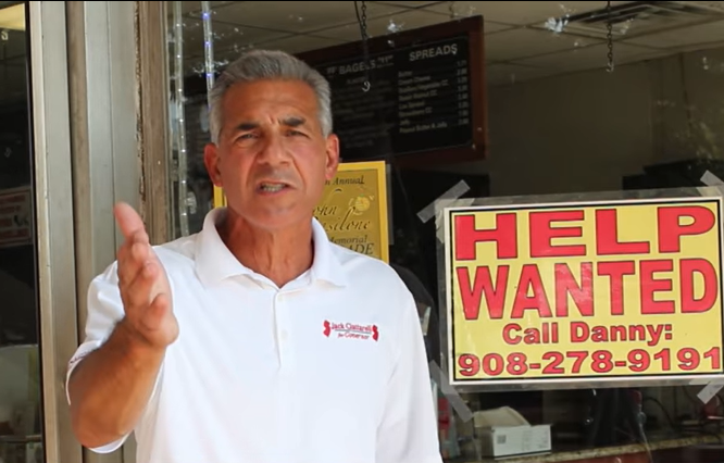 VIDEO: Ciattarelli renews call to end paying people to not work