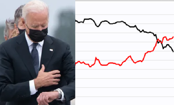 The real reason why Biden's approval rating is dropping like a rock
