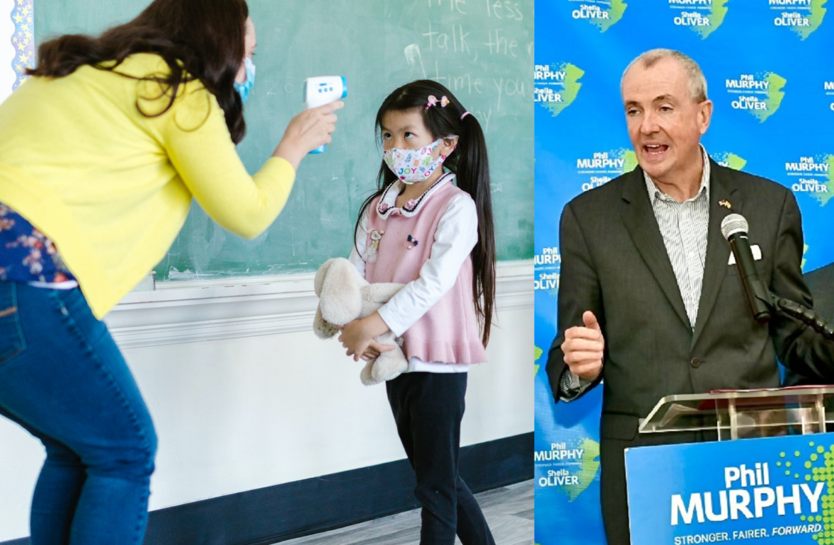SICK: Murphy orders mandatory masking for N.J. daycare children including toddlers